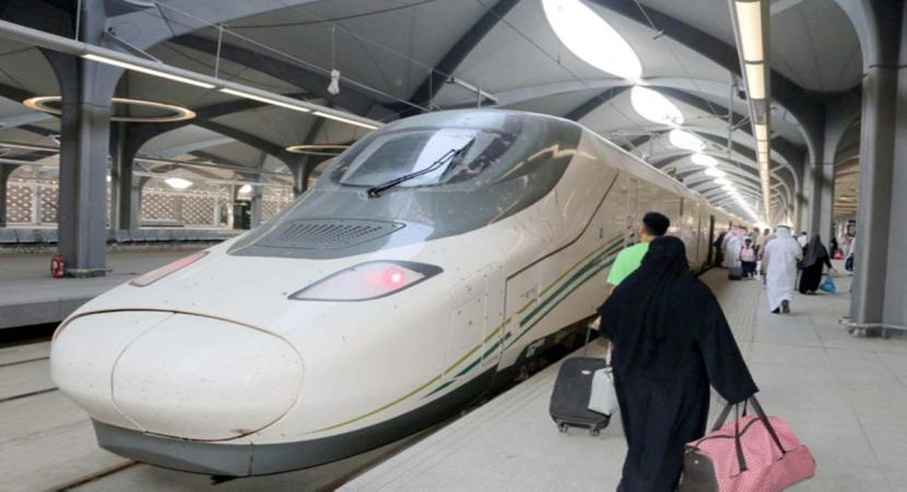 High Speed Train Hermain Starts Operations From Makkah and Madina