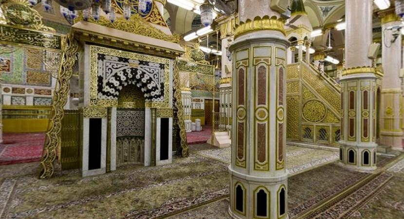 Masjid e Nawabi view where Hadith and Sunnah